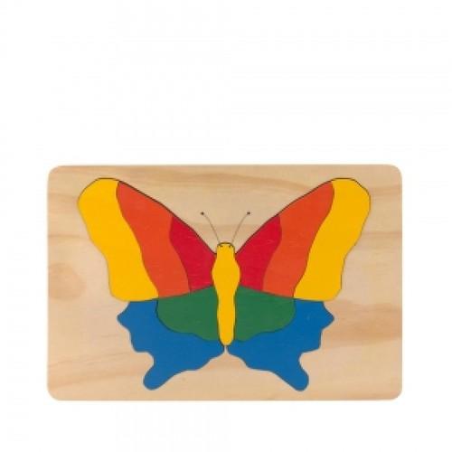 Tranh ghép gỗ hình chú bướm - 3832762 , 838622 , 15_838622 , 88000 , Tranh-ghep-go-hinh-chu-buom-15_838622 , sendo.vn , Tranh ghép gỗ hình chú bướm