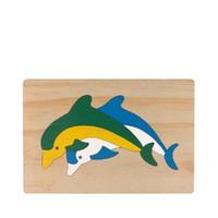 Tranh ghép gỗ Winwintoys hình con cá heo
