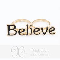 NHẪN BELIEVE