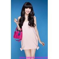 Đầm nữ vải Plaza cao cấp đa dạng màu sắc trẻ trung DV189