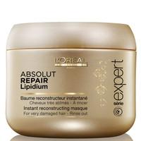 Kem Ủ phục hồi tóc hư tổn LOréal Absolut Repair Lipidium 200ml