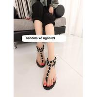 Giày sandals xỏ ngón 09