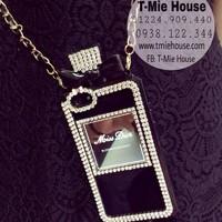 Case Iphone 5 5s Miss Dior đính hột cao cấp