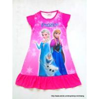 Đầm Disney Nữ hoàng băng giá cực hot cho bé thêm yêu