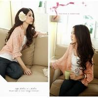 Áo choàng len dệt kim thu đông - AK0141