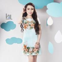 Đầm suông hoạ tiết DSHL009