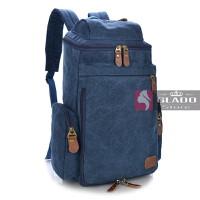 Balo laptop GLADO thời trang màu xanh 24