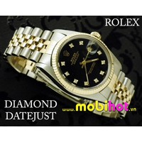 Đồng hồ Nam Rolex Oyster Gold mens diamond Perpetual Datejust MS231