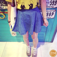 Chân váy jeans - 6144