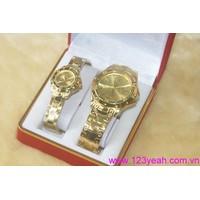 Đồng hồ cặp đôi tình nhân Ro chắp cánh yêu thương DHTN88