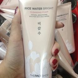 Sữa rữa mặt gạo The Face Shop