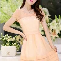 Đầm Váy Công Sở Hàn Quốc D386