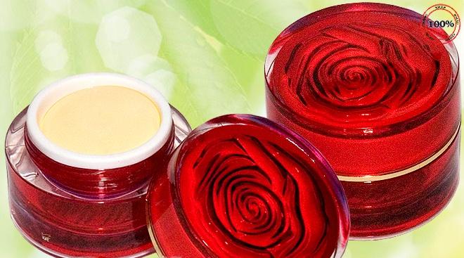 Kem trị nám,trị mụn ,tàn nhang dưỡng trắng da Lulan hoa hồng đỏ-MP717 4