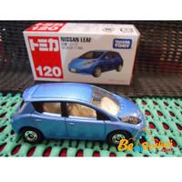 Xe Tomica 120 Nissan Leaf màu xanh