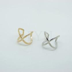 Nhẫn nữ kiểu dáng mới, dáng đeo 2 nhẫn thời trang cá tính trẻ
