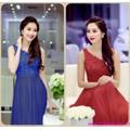 Đầm dạ hội ren lệch vai quyến rũ sành điệu zDMX25