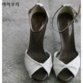 Giày cao gót quai nơ xinh xắn Hàn Quốc
