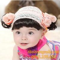 Băng đô tóc giả bé gái AS212