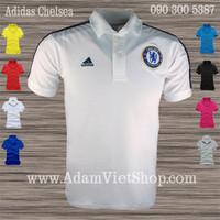 Adidas Chelsea trắng, đen, xanh dương, xám