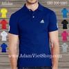 Adidas trắng, đen, xanh dương, tím, xanh két.