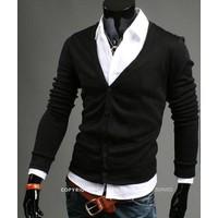 Áo khoác nam cardigan Facioshop