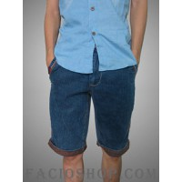 Quần jeans ngắn nam Facioshop NP24