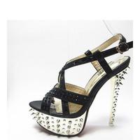 Giày cao gót nữ nạm đinh Mã: GC0032