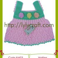 Áo Váy cho Bé - Đan Thủ công - Handmade
