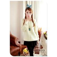 Áo len đan kiểu dây thừng - DMK021