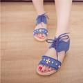 Giày sandal vải jean cá tính - SG0029