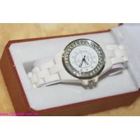 Đồng hồ nữ koreastyle dây đá mặt đính hạt DHI29