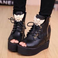 giày boot nữ G-128