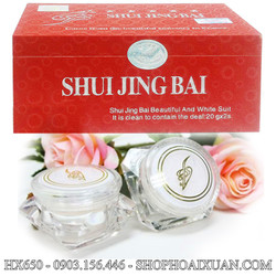 Kem trị nám dưỡng da cao cấp Shui Jing Bai - HX650
