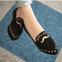 Giày búp bê nữ Mr.Râu đáng yêu - XS0021