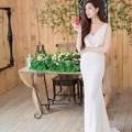 Đầm maxi cô dâu dạ tiệc tự tin đẹp nổi bật sDD812