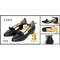 Giày búp bê - Giày búp bê chất da - giày búp bê nữ Zara- hàng xuất