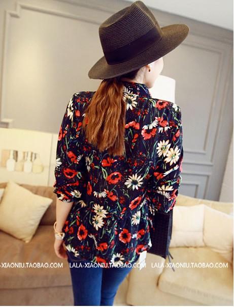áo sơ mi hoa 8