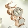 Đồng hồ phong cách Hàn - trắng