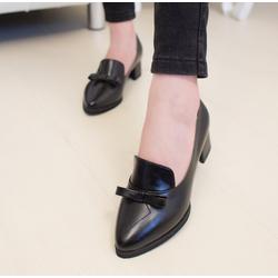 Giày cao gót da bóng phong cách châu âu CG-450