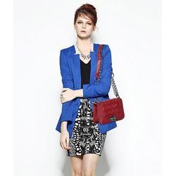 Túi xách đan dây kiểu Chanel sành điệu