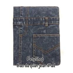 Bao da quần jean iPad 2 iPad 3 iPad 4