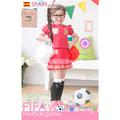 Bộ váy thể thao Bò tót Tây Ban nha cho con gái