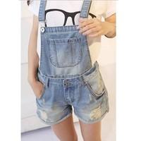 quần short jeans yếm cá tính Mã: QN459