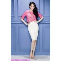 Chân váy Ngọc Trinh ôm kiểu dáng đơn giản CV39