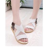 Giày sandal đế cao NU 465