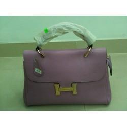 Túi xách màu tím thời trang cá tính T007