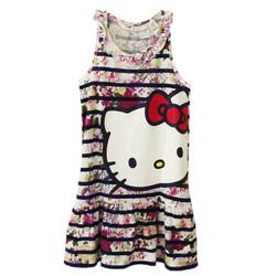 Đầm thun Hello kitty H-M cho bé gái
