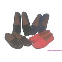 Giày mọi nữ da cao cấp đủ màu đủ size mấu mới ra tháng 9 GM94