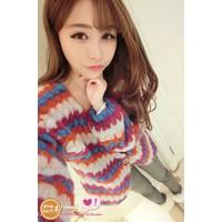 Áo khoác len sắc màu - 5455