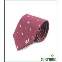 Caravat tơ tằm Smeraldo bản nhỏ